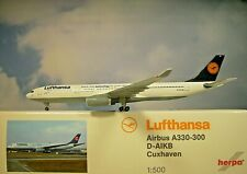 Herpa Wings 1:500  Airbus A330-300  Lufthansa AIKB  514965-003  Modellairport500