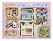 Sylvanian Families CLOSE BABIES AND BABY FURNITURE SET Epoch Calico Critters