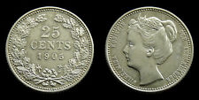 Netherlands - 25 Cent 1905