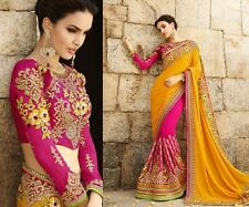 Indian bridal Pakistani Bollywood Bridal Traditional Ethanic Saree Sari