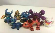Disney Lilo Stitch Figures Toys Lot Yang Kixx Reuben Experiments Display