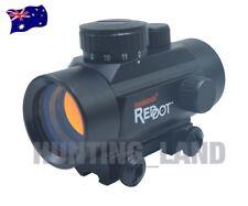 Tasco 1x30mm Illuminated 5 M.O.A. Red Dot Scope Built-on 11mm Dovetail Rail