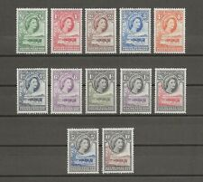 More details for bechuanaland 1955-58 sg 143/53 mlh cat £100