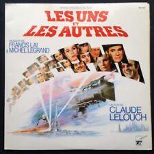Les UNS Et Les AUTRES Film Soundtrack 2-LP GF Michel Legrand Francis Lai Lelouch