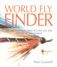 COCKWILL PETER FLYFISHING & FLYTYING BOOK WORLD FLY FINDER hardback BARGAIN new