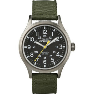 Timex Expedition Scout Metal Watch Green/Black T49961