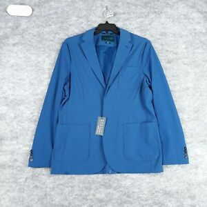 Perry Ellis Blazer Blue XL Men Slim Fit Stretch Casual Sport Coat Unlined New