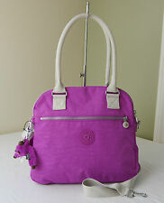 Kipling HB6599 Pink Orchid Cadie Triple Compartments Satchel