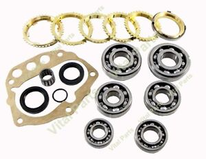 FITS Nissan Frontier 5SPD Transmission Rebuild Kit with Synchros FS5W71C 1998-ON