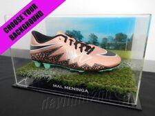 ✺Signed✺ MAL MENINGA Football Boot PROOF COA Canberra Raiders NRL 2018 Jersey
