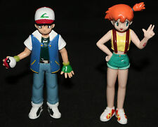 Pokemon Ash & Misty Tomy Figures - 1998