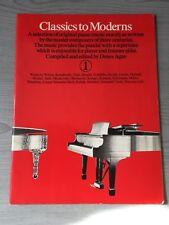 Classics to Moderns Piano Book 1 One Dene Agay Sheet Music Score
