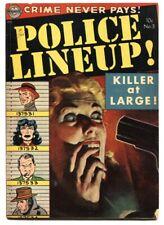 Police Lineup #3 - 1952 - Avon - VG - comic book