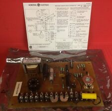 General Electric Resistance Sensitive Relay Board # 3S7511RS575A1 with Diagram
