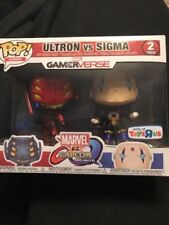 FUNKO POP GAMES ULTRON VS SIGMA MARVEL VS CAPCOM 2 PACK TOYS R US EXCLUSIVE