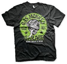 Gas Monkey Garage Green Logo Affe Blood Sweat & Beers Männer Men T-Shirt