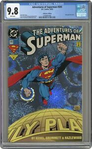 Adventures of Superman #505A Grummett CGC 9.8 1993 3740801006