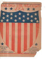 1900 Sailing the Western Sea newspaper insert - Harry Gray