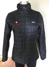 Womens PATAGONIA Black Nano Puff Jacket Size Small