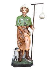Saint Roch fiberglass statue cm. 160 with glass eyes