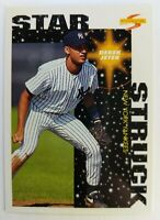 1996 96 Score Star Struck Derek Jeter Rookie RC #384, New York Yankees HOF