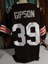 Tashaun Gipson signed  Browns Jersey, COA. #39
