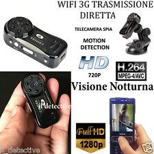 Micro telecamera spia mini WIFI p2p infrarossi micro camera microcamera
