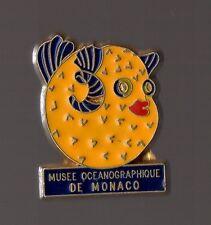 Pin's musée océanographique de Monaco (poisson porc épic - diodon)