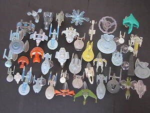 Star Trek Micro Machines Tactics: Enterprise E Bounty NX01 Defiant Voyager Array