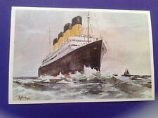 Titanic postcard 80th anniversary Gerald Nummi Hakkaratnen 12/100 Harland & Wolf