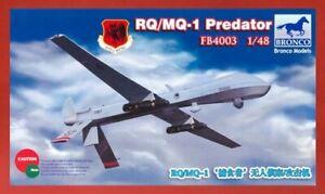 Bronco Model FB4003 1/48 USAF RQ/MQ-1 PREDATOR - Unmanned Aerial Vehicle