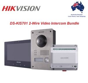 Hikvision DS-KIS701 2-Wire Video Intercom Kit - AU Stock