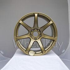 NEW 4  ROTA WHEEL VECTOR PRO 18X9.5 5X100 38 GOLD LAST SET