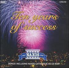 Naxos: Ten Years of Success (includes catalogue as CD-ROM) ECD (CD, Naxos (Di...