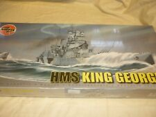 Airfix factory sealed / un opened / un made plastic kit of HMS King George V,
