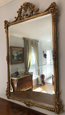 Friedman Brothers Carved Gilt Louis XVIII Style Stanton Arms Wall Mirror