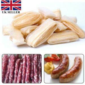 2.5M  20/22/30MM Natural Sausage Skin Collagen Casing Smoked Fresh Roast UK~