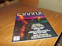 Omni Magazine The Soviets' Space Station September 1986 061615R No Label