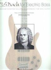J.S. Bach for Electric Bass Guitar Bob Gallway E-Bass Noten Tab
