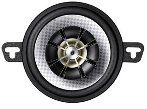"Blaupunkt GTx 352 SC in car speakers 3.5"" 87mm 2 way coaxial 120W performance"