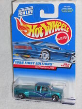 Hot Wheels 1998 First Editions 26 / 40 Customized C3500 #663 Thick Side Stripes