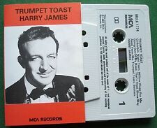 Harry James Trumpet Toast inc Willow Weep for Me + Cassette Tape - TESTED