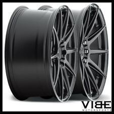 "20"" NICHE ESSEN BLACK CONCAVE WHEELS RIMS FITS FORD MUSTANG GT GT500"
