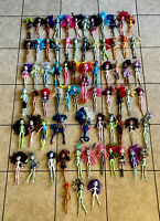 Monster High Dolls Mattel Huge Large Lot Bundle Toy Collection of 71 Used As Is