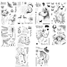 6x8 Wilde Organism Stempel Clear Stamps Silikonstempel Siliconstempel Einladung