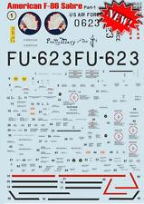 Print Scale Decals 1/32 North-American F-86E Sabre Part 1 # 32017