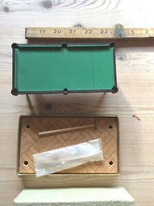 Rare Boxed Vintage Platignum Ltd Billard Table Set