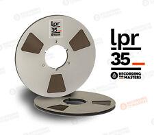 """RTM LPR35 1/4"""" x 3600' REEL TO REEL TAPE ON ALUMINUM REEL, RMGI"""