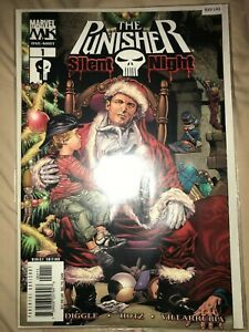 The Punisher Silent Night 1 - Comic Book - B30-143
