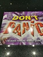DON'T PANIC Family Board Game by Drumond Park 2003 COMPLETE